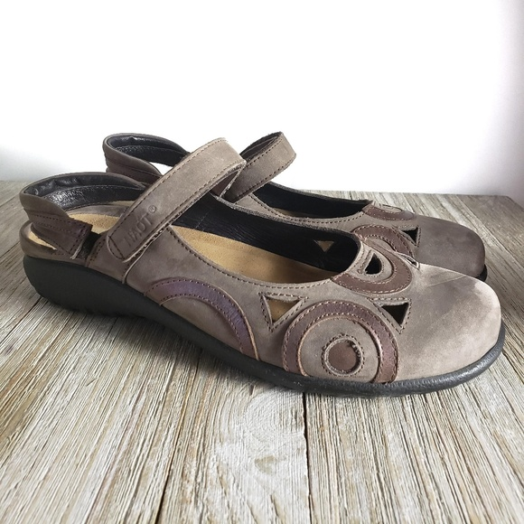 6e57dd3f150fc NAOT Sandals Mary Jane Shoes Rongo Size 9 9.5